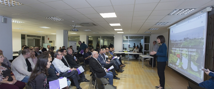 Gandia planea invertir 10 millones en mejoras urbanas en cuatro años con ayudas europeas