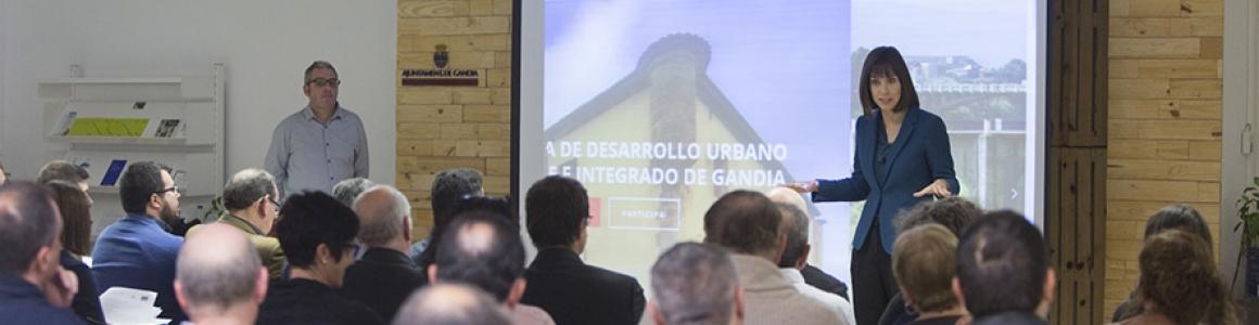 Hui se celebra la segona jornada per continuar preparant l'Estratègia de Desenvolupament Urbà Sostenible i Integrat de Gandia