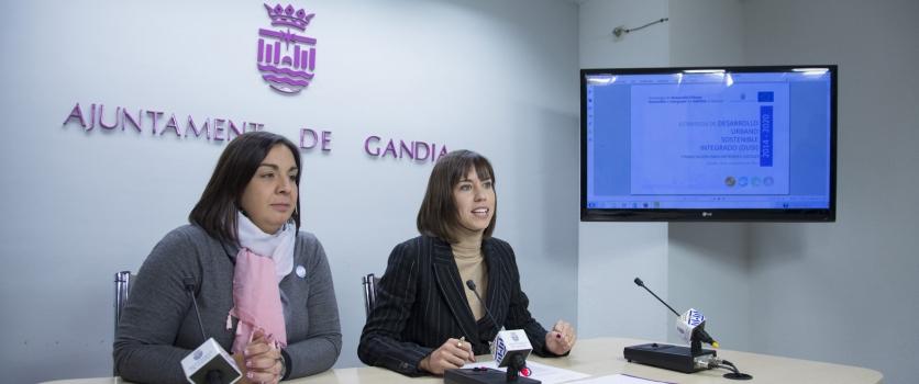 Gandia presentarà un projecte d'Estratègia de Desenvolupament Urbà Sostenible i Integrat (DUSI) per obtenir fons Europeus